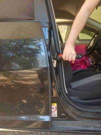 ידית אחיזה לגיל השלישי עזר לתמיכה בכניסה ויציאה מהרכב -מבחוץ
