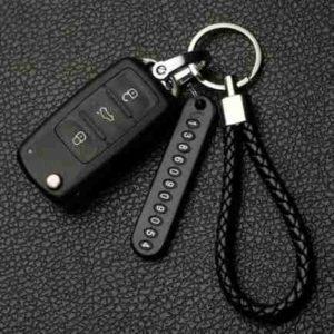 מחזיק מפתחות עם מספר טלפון
